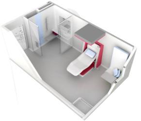 La chambre d 39 h pital du futur est n e 08 03 2012 actu for Fauteuil chambre hopital