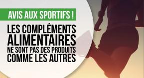 complément alimentaire, dopage, sportifs, cespharm