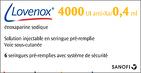 Lovenox, rupture lovenox, rupture pharmacie lovenox