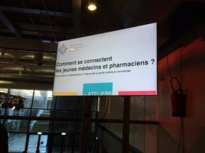 Lab e-santé, Isidore, dmd-santé, Medpics, Stagium, Le Moniteur des pharmacies, ANEPF, connecté