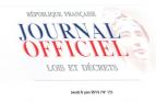 journal officiel, loi