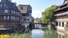 Strasbourg, Alsace, Petite France, Colombages