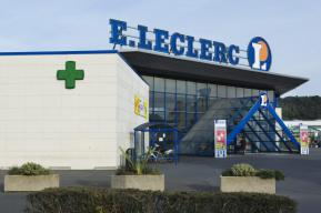 Leclerc, distribution, ticket de caisse, ordonnance, magasin, médicament, pharmacie