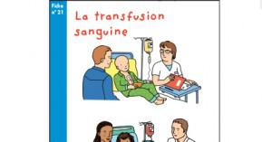 Association Sparadrap, transfusion sanguine