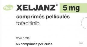 Xeljanz, tofacitinib, Olumiant, baricitinib, polyarthrite rhumatoïde, Pfizer
