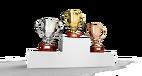 trophée, médaille, récompense, sport, élève