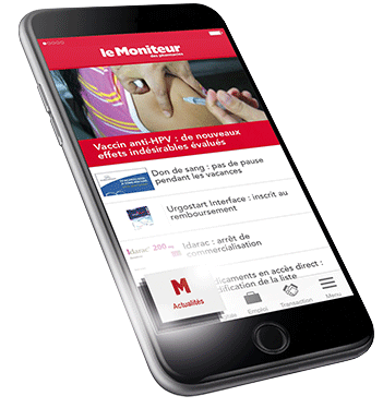 application le moniteur des pharmacies
