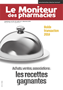 guide transaction officine 2018