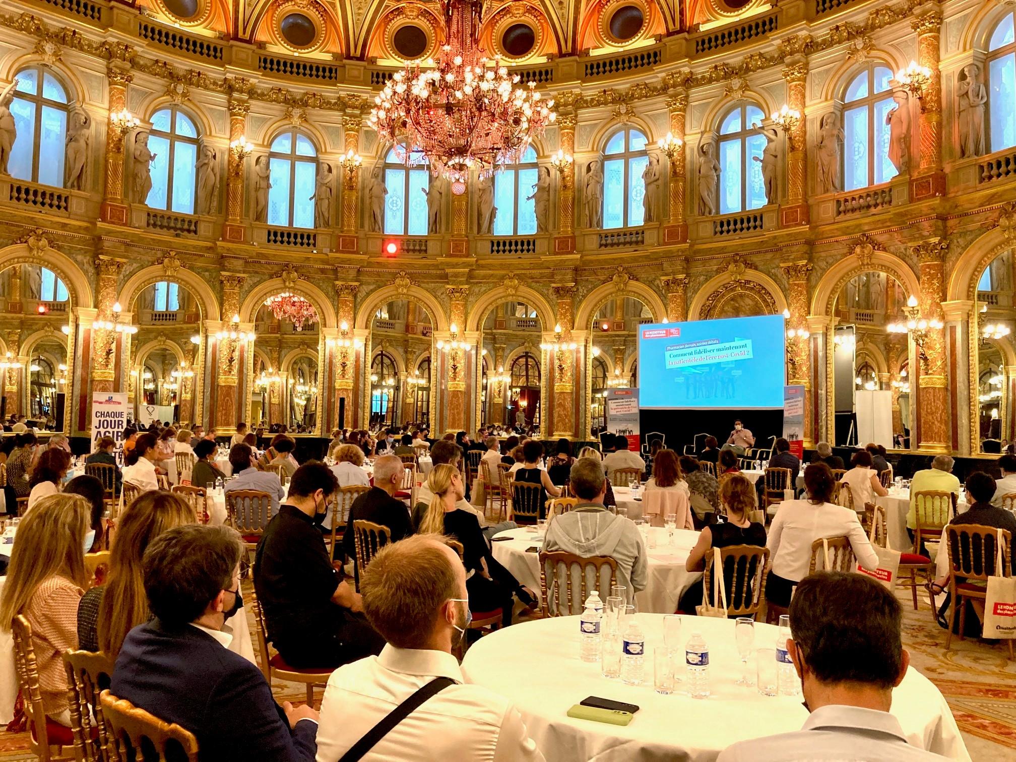 2 - Salle comble pour la 1ère soirée Débats du 16 juin 2021 à Paris