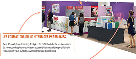 Les formations du Moniteur des pharmacies