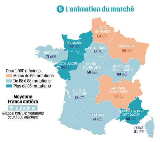 Carte Animation du marché